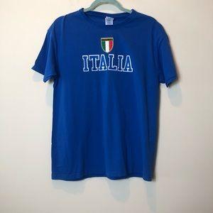 Italia Blue T-Shirt